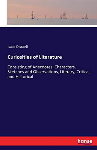 9783741139970: Curiosities of Literature