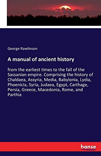 9783741159244: A Manual of Ancient History