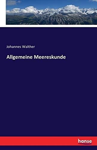 9783741174865: Allgemeine Meereskunde