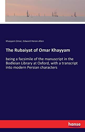 The Rubaiyat of Omar Khayyam: Khayyam Omar