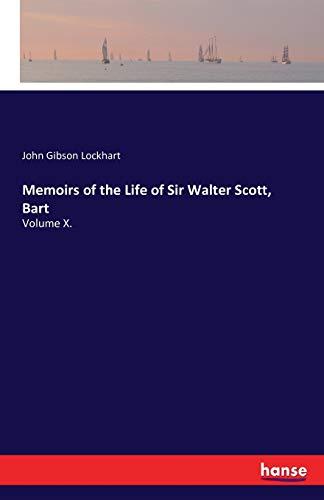 9783741184369: Memoirs of the Life of Sir Walter Scott, Bart