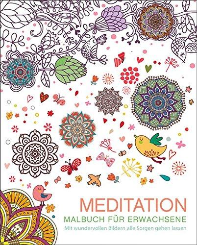 9783741520723: Malbuch für Erwachsene: Meditation