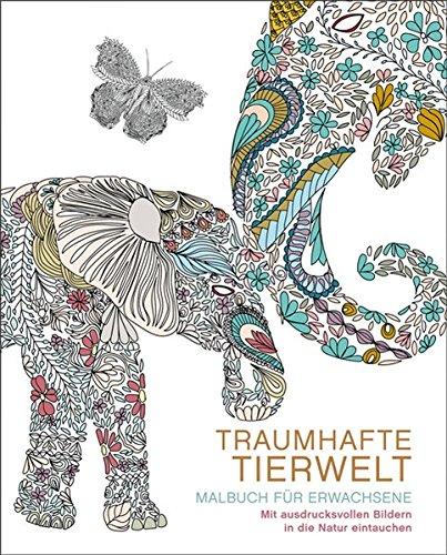 9783741520754: Malbuch für Erwachsene: Traumhafte Tierwelt