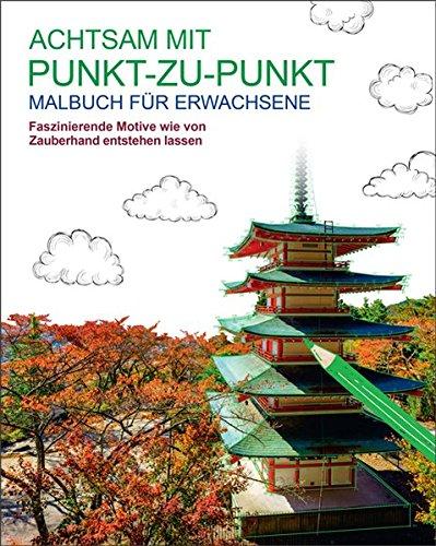 9783741520792: Malbuch für Erwachsene: Achtsam mit Punkt-zu-Punkt