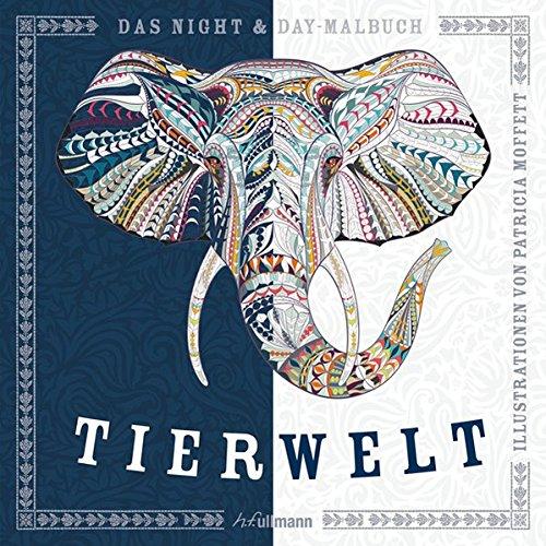 9783741521034: Night & Day-Malbuch: Tierwelt