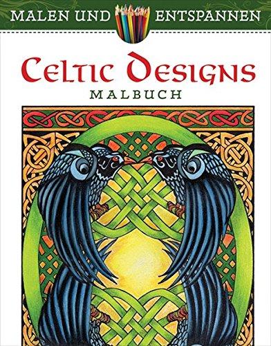 9783741521478: Malen und entspannen: Celtic Design