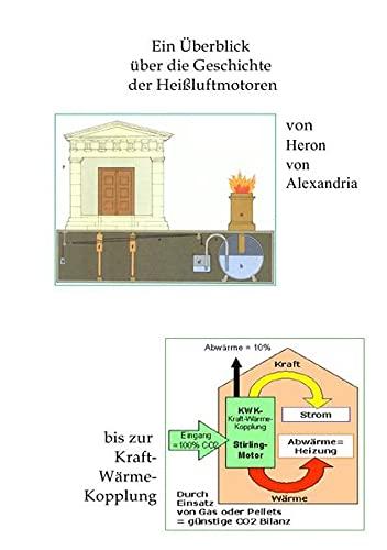 9783741838668: Geschichte der Heißluftmotoren