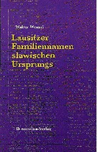 9783742017673: Lausitzer Familiennamen slawischen Ursprungs