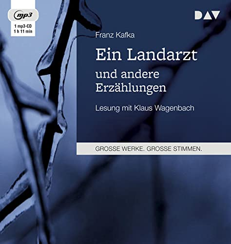 Ein Landarzt und andere Erzählungen, 1 MP3-CD: Kafka, Franz /