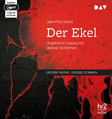 Der Ekel, 1 MP3-CD: Sartre, Jean-Paul /