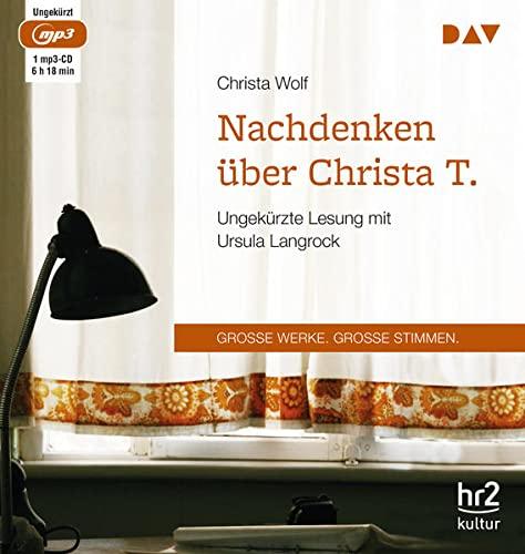 Nachdenken über Christa T.: Christa Wolf
