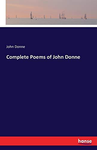 9783742814487: Complete Poems of John Donne