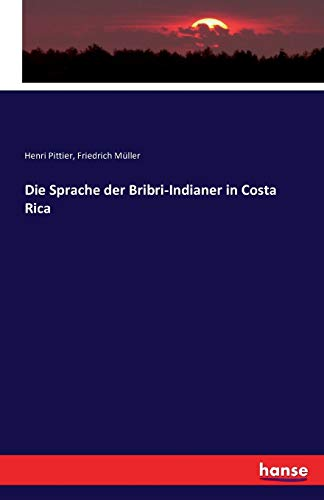 9783742895141: Die Sprache Der Bribri-Indianer in Costa Rica (German Edition)
