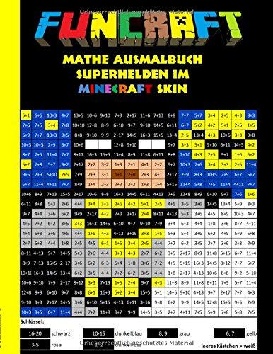 Funcraft - Mathe Ausmalbuch: Superhelden im Minecraft: Theo von Taane