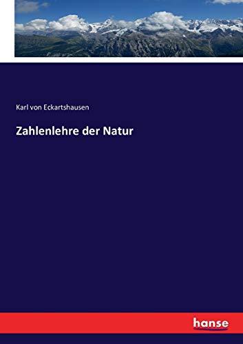 Zahlenlehre Der Natur (Paperback): Karl Von Eckartshausen
