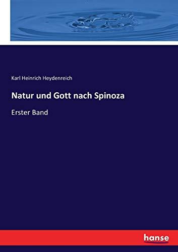 9783743462267: Natur und Gott nach Spinoza: Erster Band