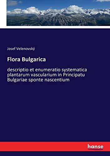 Flora Bulgarica: Josef Velenovský