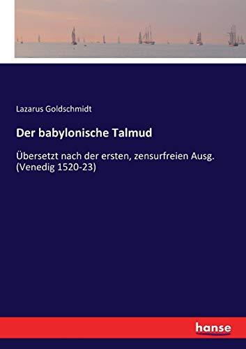 9783743498945: Der babylonische Talmud