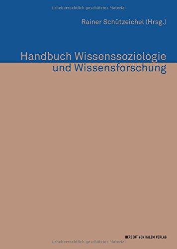 9783744516198: Handbuch Wissenssoziologie und Wissensforschung