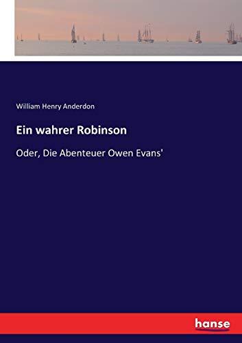 Ein wahrer Robinson (Paperback): William Henry Anderdon