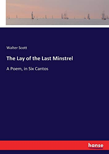 the lay of the last minstrel pdf