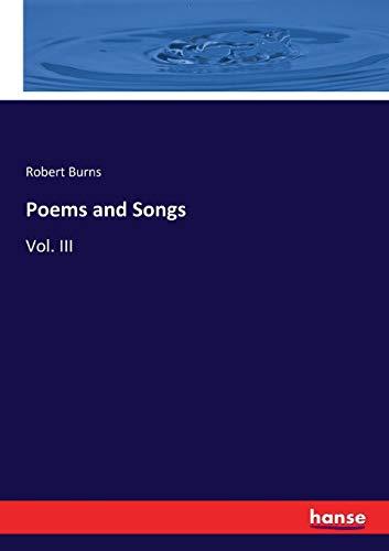 Poems & Songs (Paperback): Robert Burns