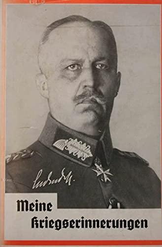 9783745077346: Meine Kriegserinnerungen 1914-1918