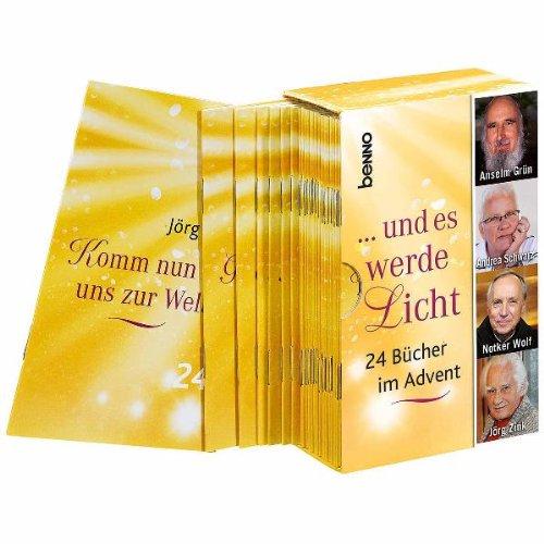 9783746231884: ... und es werde Licht: 24 Bücher im Advent