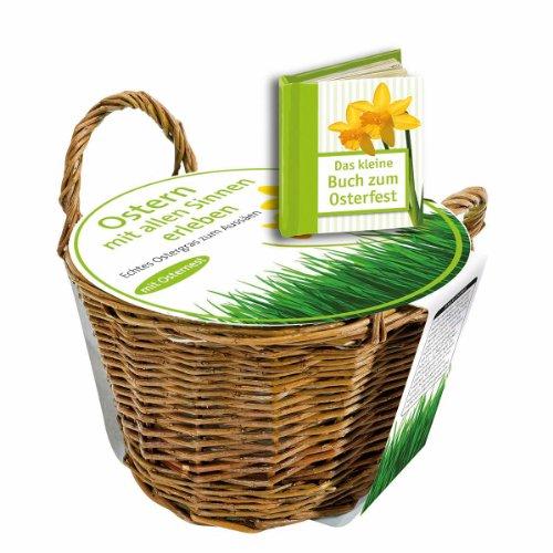 9783746232928: Das kleine Buch zum Osterfest: Ostergrassamen im Weidenkörbchen