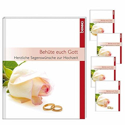 Behüte euch Gott: Herzliche Segenswünsche zur Hochzeit. Verpackungseinheit