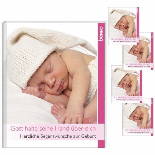 9783746233857: Gott halte seine Hand über dich: Herzliche Segenswünsche zur Geburt
