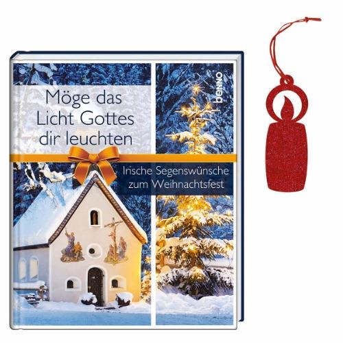 9783746235059: M�ge das Licht Gottes dir leuchten: Irische Segensw�nsche zum Weihnachtsfest
