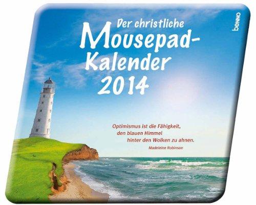 9783746236292: Der christliche Mousepad-Kalender 2014