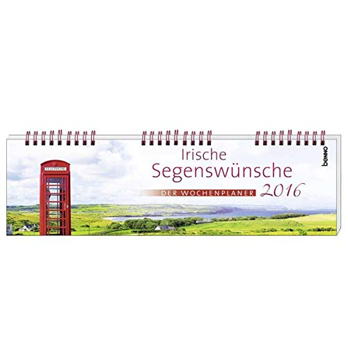 9783746242231: Irische Segenswünsche 2016 - Wochenplaner
