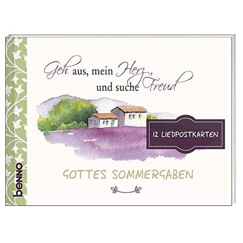 Gottes Sommergaben: 12 Liedpostkarten zu »Geh aus,