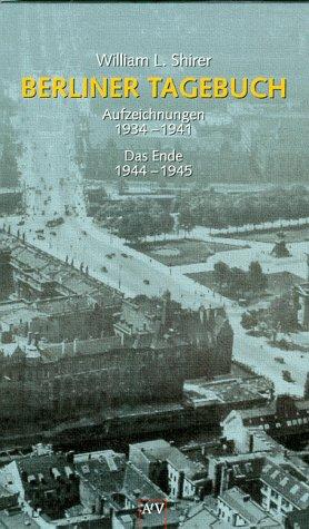 9783746615448: Berliner Tagebuch. Band 1: Aufzeichnungen 1934-1941 /Band 2: Das Ende 1944-1945