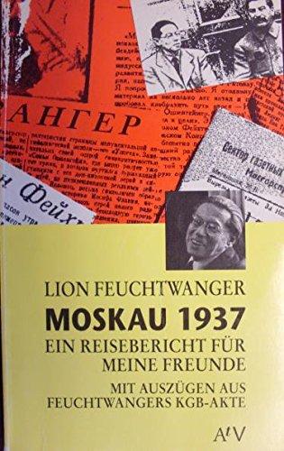 9783746650203: Moskau 1937 (German Edition)