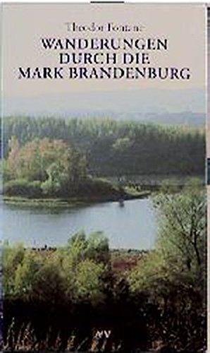 Wanderungen durch die Mark Brandenburg, 7 Bände.: Fontane, Theodor:
