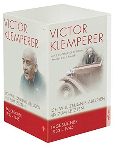 9783746655116: Ich will Zeugnis ablegen bis zum letzten: Tagebücher 1933-1945