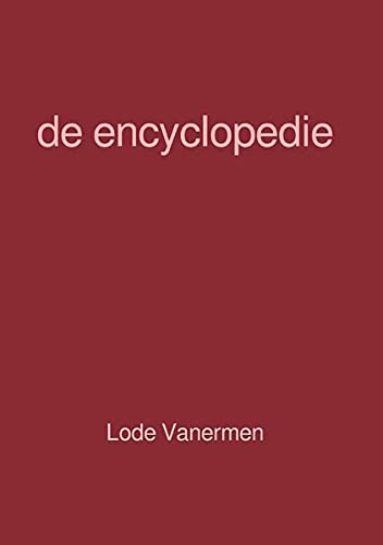 9783748522775: de encyclopedie
