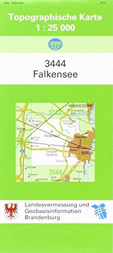 9783749035946: Falkensee 1 : 25 000: Schwarz-weiss Ausgabe