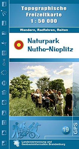 9783749040940: Naturpark Nuthe-Nieplitz 1 : 50 000