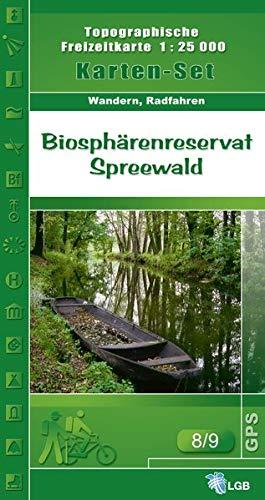 Biosphärenreservat Spreewald 1 : 25 000 Karten-Set : Oberspreewald / Unterspreewald. 2 ...