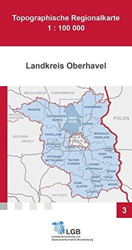 9783749045709: Landkreis Oberhavel 1 : 100 000