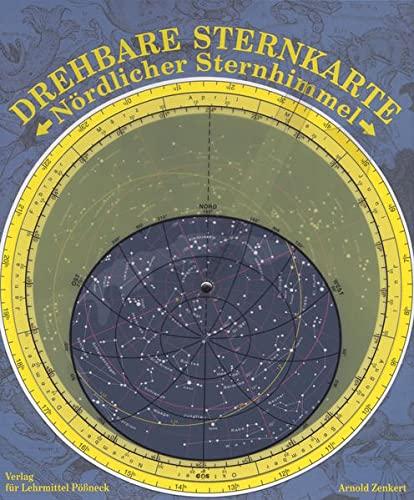 9783749302444: Sternkarte, Nördlicher Sternhimmel, mit Planetenzeiger: Sternkarte für Schule und Freizeit