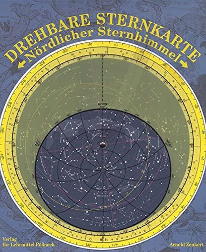 9783749302598: Zenkert, A: Sternkarte, Nördlicher Sternhimmel, mit Planeten