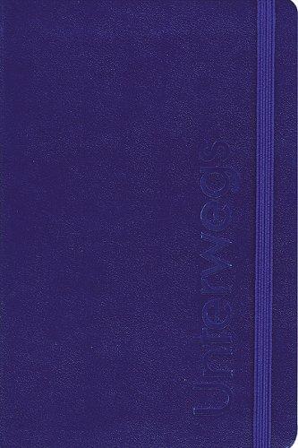 9783760012100: Unterwegs - Ein Notizbuch für Reisende