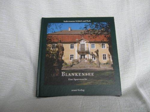 9783760586649: Blankensee. Sudermanns Schloss und Park