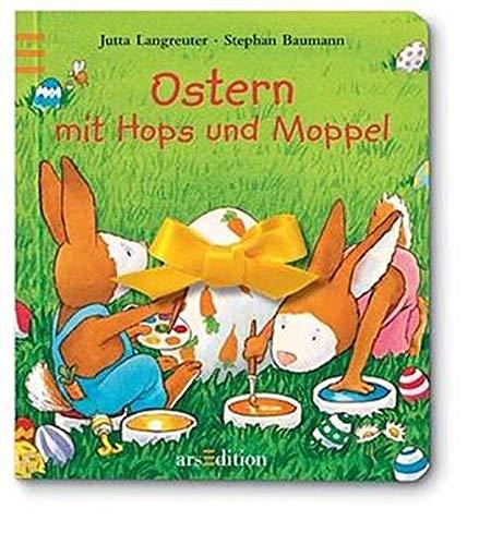 9783760713489: Ostern mit Hops und Moppel. (Ab 3 J.).