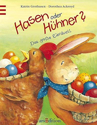 9783760714417: Hasen oder H�hner? Mini-Ausgabe. Das gro�?e Eierduell